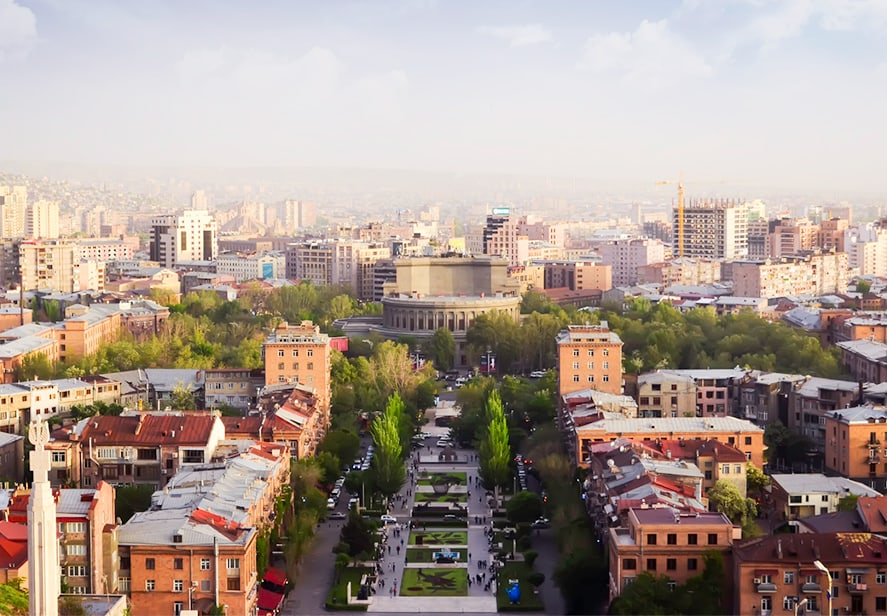 Tours to Yerevan, city in Armenia