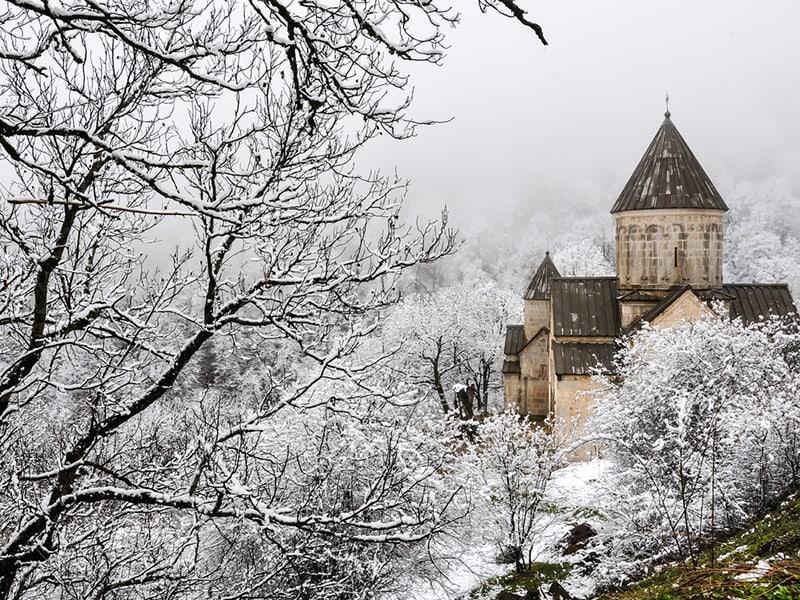 Armenia in the winter