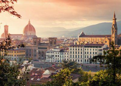Florence-skyline-dusk